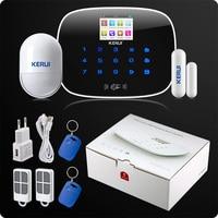 KERUI G19 APP Rfid Control Touch Screen Alarm Wireless GSM SMS Intruder Security Alarm System PIR Motion Orignal Box