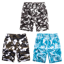 Treesolo 3PCS camouflage For Men Shorts Plus Size Swimwear Trunks Bermuda Beach camo