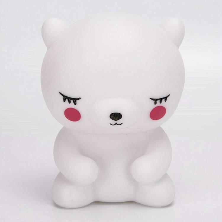 Cartoon Rabbit / Bear LED Night light Creative Childrens Gift Toy Lamp Bedroom Bedside Baby sleep Lights veilleuse enfant80514