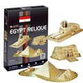3D Puzzle Paper Model DIY Toy Creative Gift Ancient Domain Egypt Relique Egyptian Pyramids for Both Children and Adult