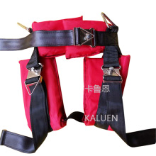 Children many colors trampoline bungee jumping harness