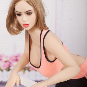 Image 4 - 158cm #5 למבוגרים בובת מין אוראלי נרתיק פי טבעת אהבת בובה יפה נשים מלא TPE עם שלד אדם של מין צעצוע