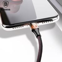 Cable de carga USB de Alimentación inteligente Baseus para iPhone 6X8  Cable USB de iluminación de respiración  Cable cargador de potencia automática Cables para teléfonos móviles     -