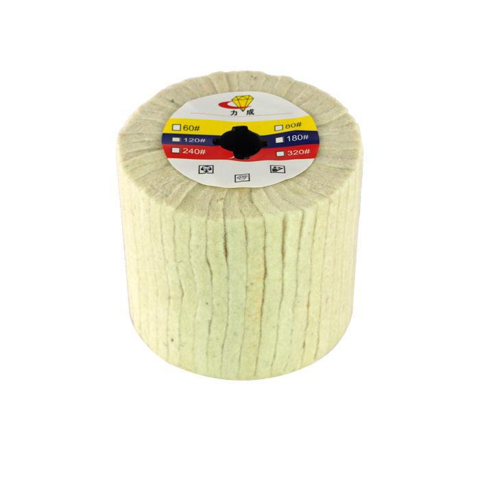 цены 100*110*19mm Wool Polishing Grinding Buffing Wheel Grinder Brushes for Drill Rotary Tool