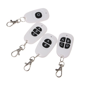 Image 2 - 1CH 2CH 3CH 4CH RF Wireless Remote Control 1 4 Button Transmitter 433 MHz EV1527