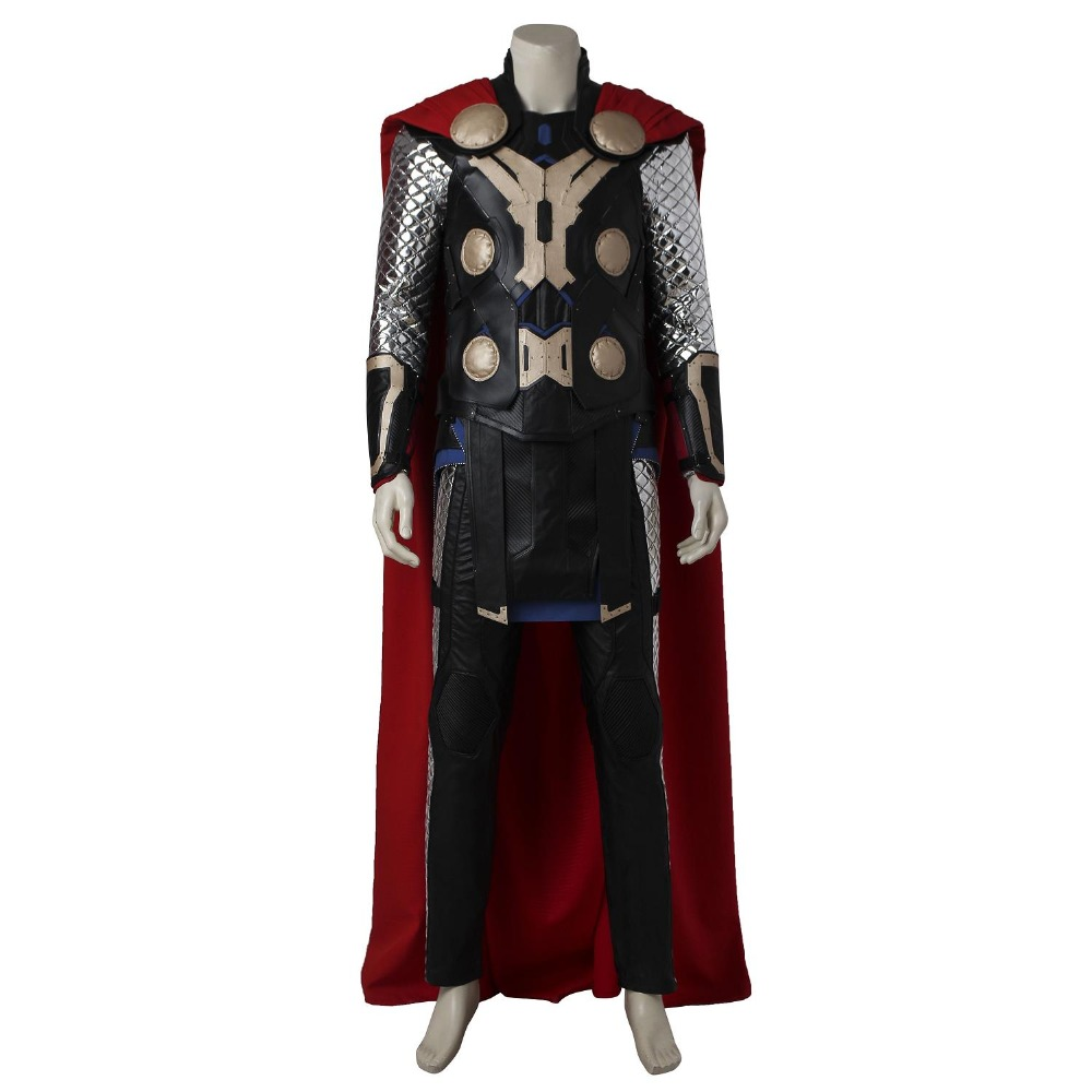 Thor Cosplay Costume The Avengers Ultron Odinson Cosplay Outfit Superhero Halloween Vêtements Parti Custom Made Adulte Hommes