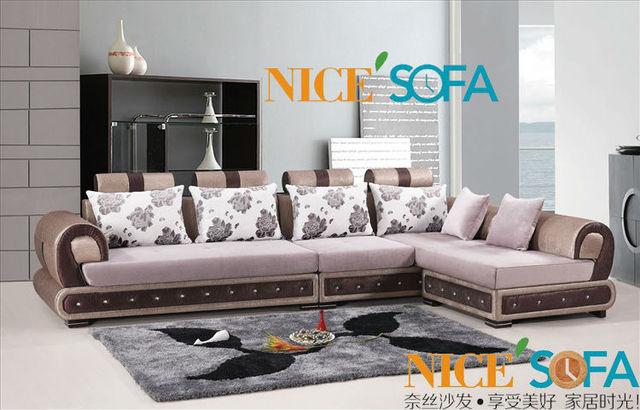 Charmant Turkish Style Rattan Furniture Fabric Sofa 1051B#