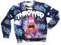 2015 hot cute Ice cream Patrick print 3d sweatshirts men/women Cartoon hoodies clothes moleton masculino PLUS SIZE S-XXL