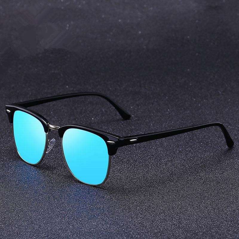6aca651c38 2018 nuevas gafas de sol de moda para hombre/mujer remache Retro de alta  calidad lentes Polaroid diseño de marca gafas de sol para mujer Oculos