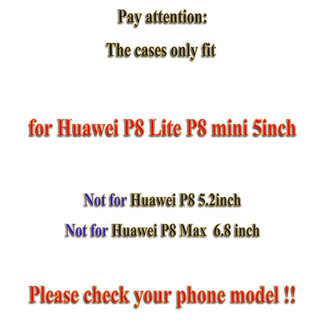 Soft TPU Hard Plastic Cartoon Cases for Huawei Ascend P8 Lite P8 Mini ALE_L21 ale l21/P9