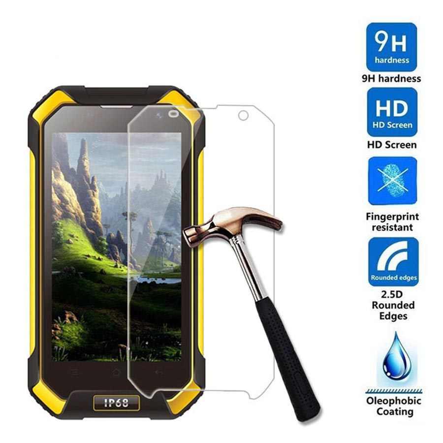 Gehärtetem Glas 9 H 2.5D Anti-Explosion Scratch Proof Screen Protector film Fall für Blackview BV6000 7000 8000 Glas smartphone