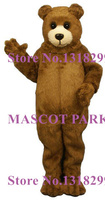 mascot Brown Baby Bear Mascot Adult Costume for Sale Cartoon Bear Theme Anime Cosplay Dress Carnival Fancy MASCOTTE KITS