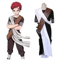 Anime Individual NARUTO Gaara 3rd Men's Cosplay Costume Male Hokage Halloween party Any Size Freeshipping