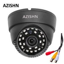 Новый звуковая купольная камера 800TVL 1/4 «CMOS с IR-CUT 3,6 мм объектив 24 шт. лазера (QT5524) IR с аудио крытая камера видеонаблюдения