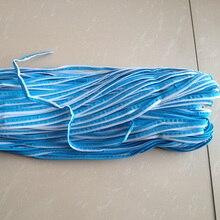 М 10 мм x м 50 м см 1 см x 50 м синий светоотражающий трубопровод ткань полосы окантовка оплетка отделка ленты пришить для одежды мешок кепки брюки