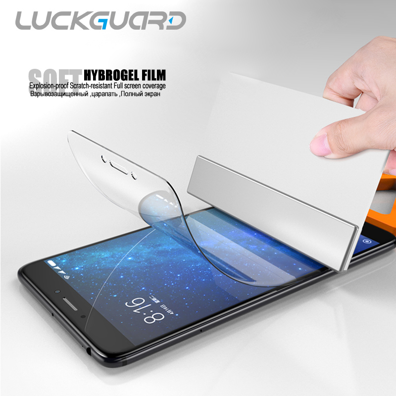 5D For Xiaomi Mi 6 8 9 SE Note 2 3 Soft Full Coverage Hydrogel Film For Xaiomi Mi Max 2 3 Mix 2S Screen Protector No Glass Film