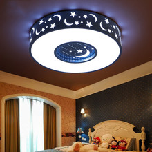 Creative Romance LED ceiling lamp modena star moom light for boy Children's Bedroom lamp girl kid room lighting study room light led ceiling lamp children bedroom light main bedroom light boy girl warm romantic star cartoon shaped lights creative