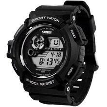 Relojes hombres Deportes Skmei Reloj Militar Marca Casual Digital LED Multifuncionales de Pulsera 50 M Impermeable Reloj Estudiante