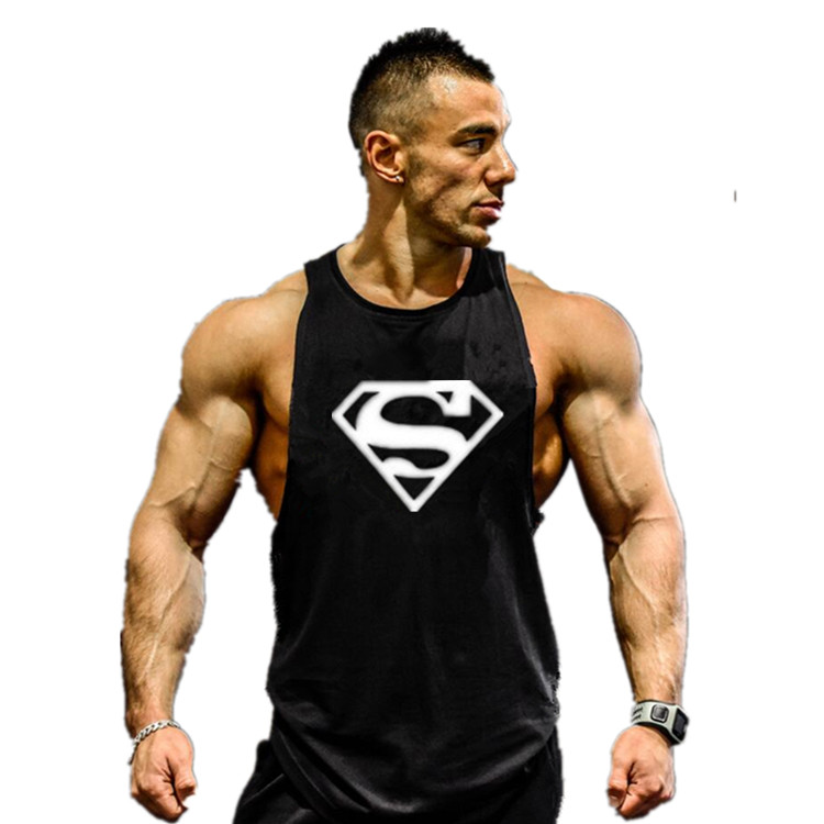 Gym Trainning T-shirts Animal Stringer Tank Tops Mens Sleeveless Singlets Bodybuilding Clothes Sports Undershirt Fitness Vests - Brand New store