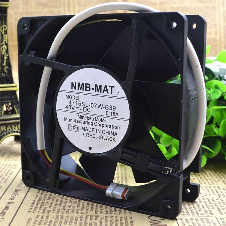 Free shipping NMB 4715SL-07W-B39 48V 0.18A COOLONG FAN  цена и фото