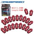 RED D1 SPEC M12X1.25 BIRLO JDM RACING TUERCAS de las RUEDAS 40 MM Fit Para Nissan Subaru infiniti