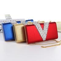2014 Women Evening Clutch Purses Designer Bag Female Wallets Famous Brand Messenger Ladies Handbag Carteira Feminina