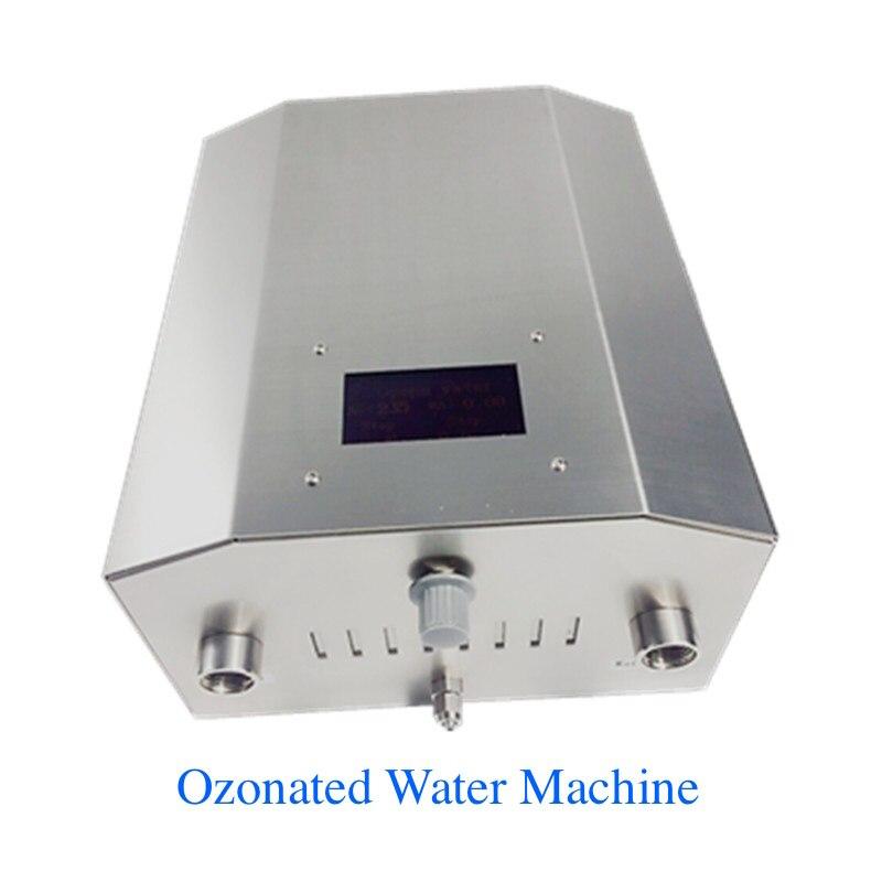 Acqua ozonizzata macchina di acqua generatore di ozono disinfettante per kitchents/ristoranti/ospedale 5g/ore di Acqua tubo di installazione
