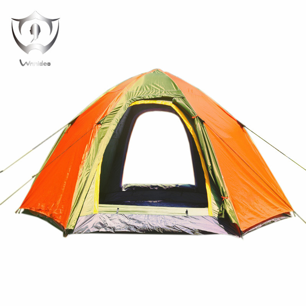 Wnnideo Instant Dome Family Tent 6 Person Awning Pop Up
