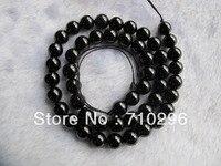 Natural Black Spine l Gem stone beads 8mm Gem stone Jewelry making Beads 40 cm/strand