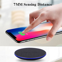 YWEWBJH  Qi Wireless Charger For iPhone 8 8Plus X 10W Fast Charging for Samsung S9/S8/S8+/S7/S6 Edge USB