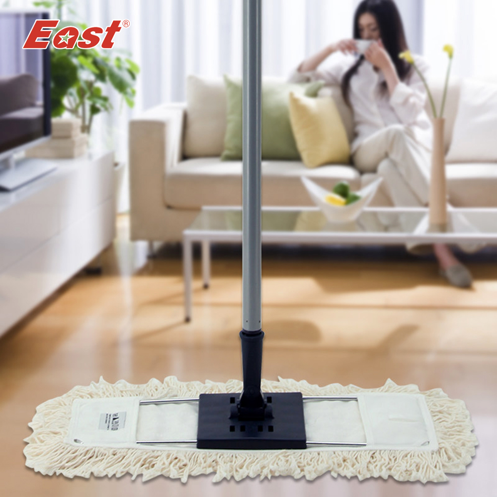 East  cleaning tools long pole with cotton yarn head housekeeper cleaning home floor dust MopEast  cleaning tools long pole with cotton yarn head housekeeper cleaning home floor dust Mop