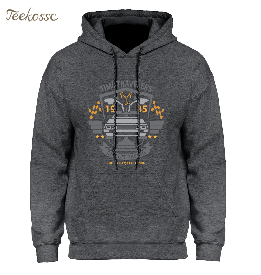 Back To The Future Hoodie Men Classic Movie Series Hoodies Mens Hooded Sweatshirts 2018 New  Brand Winter Autumn Black Pullover