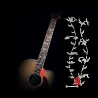 IM Guitar Frets Inlay Decal Sticker White Steve Vai Tree Of Life 24 Frets