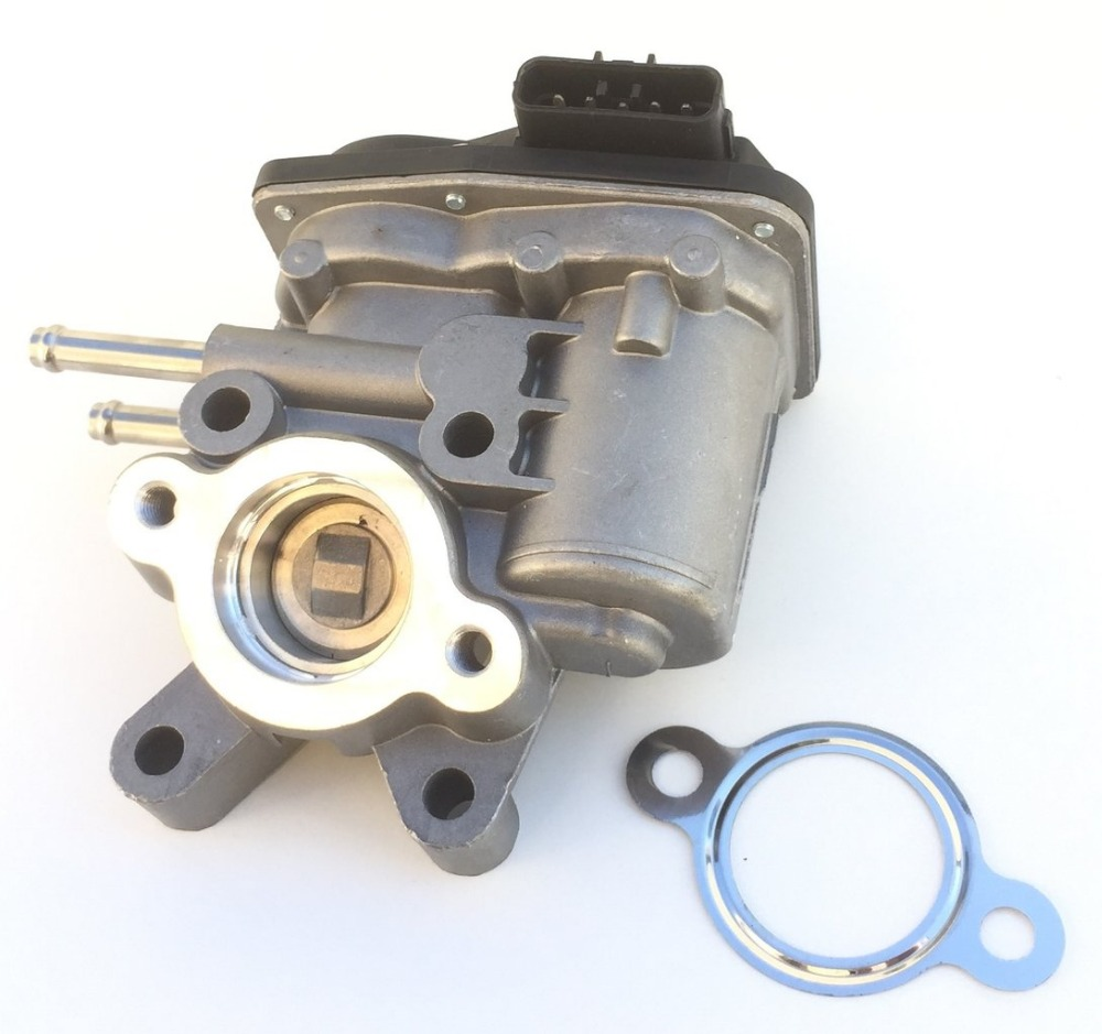 EGR VALVE case FOR for NISSAN: NAVARA (D40) (2005-), 2.5 dCi 144CV, NP300 (D22) (2008-), 2.5 dCi 133CV PATHFINDER genuine fuel rail high pressure sensor regulator for nissan navara d40 2 5 dci 499000 6131