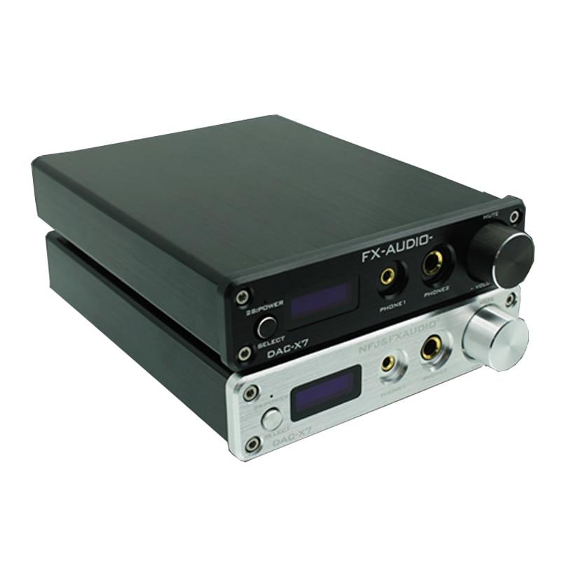Optical Aux Input Charitable Dac-x7 Xmos Ak4490eq Usb Dac Decoder Hifi Audio Headphone Amplifier Dsd256 Opa2604 Tpa6120 Usb Coaxial