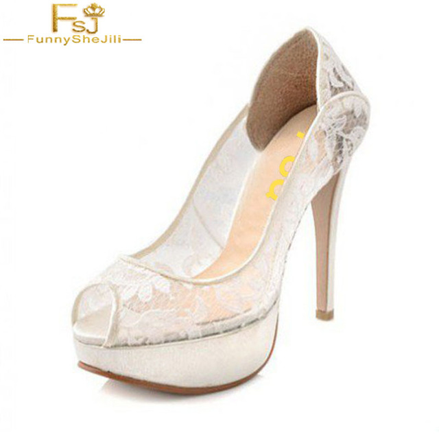 6bda3dad4 Verano-Mujer-Classic-blanco-nupcial-zapatos-cordones-plataforma-Peep-Toe -bombas-Supper-tacones-altos-para-la.jpg 640x640.jpg