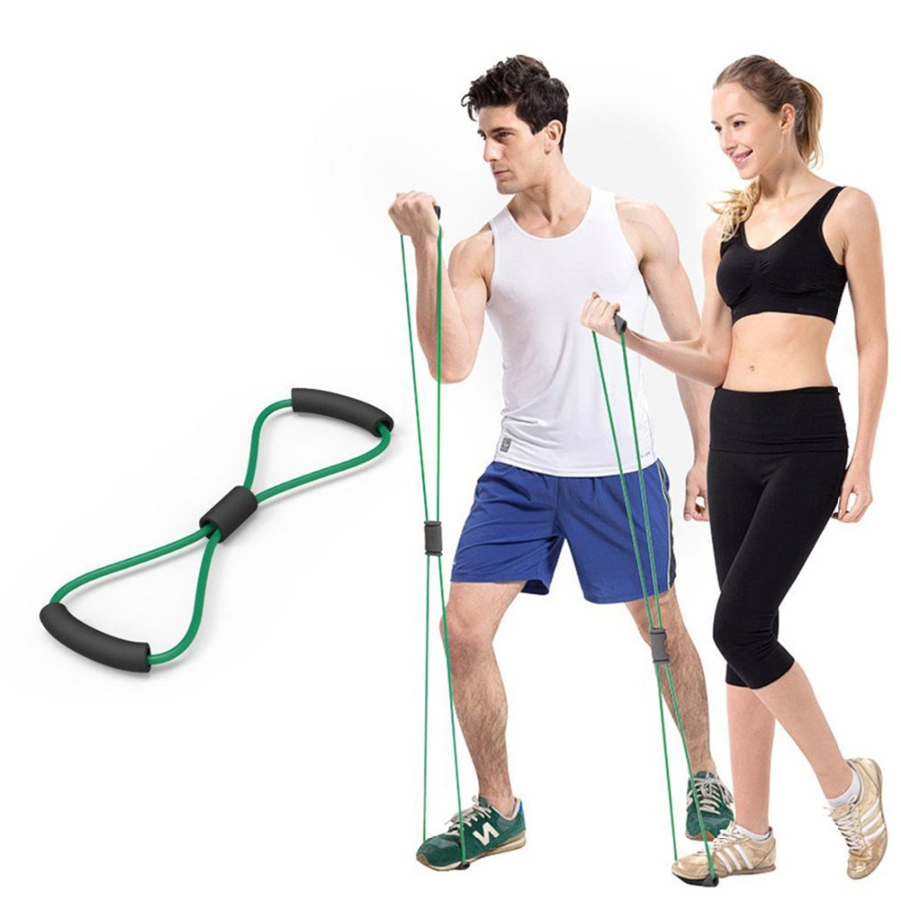 Resistance Training Bands Tube Workout Exercise For Yoga