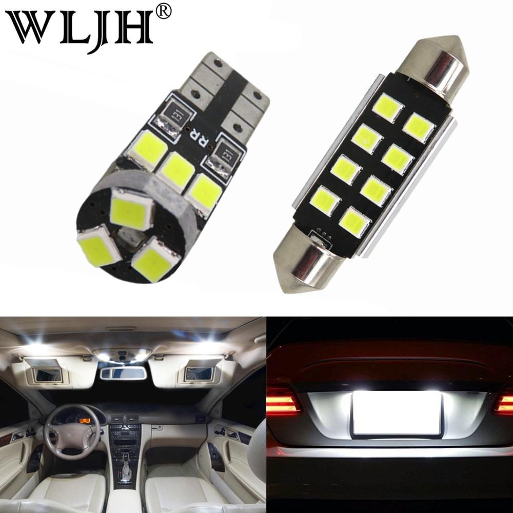 wljh 13x pure white canbus no error free led car light for bmw x3 e83 led interior light led kit 2004 2010 [ 1000 x 1000 Pixel ]