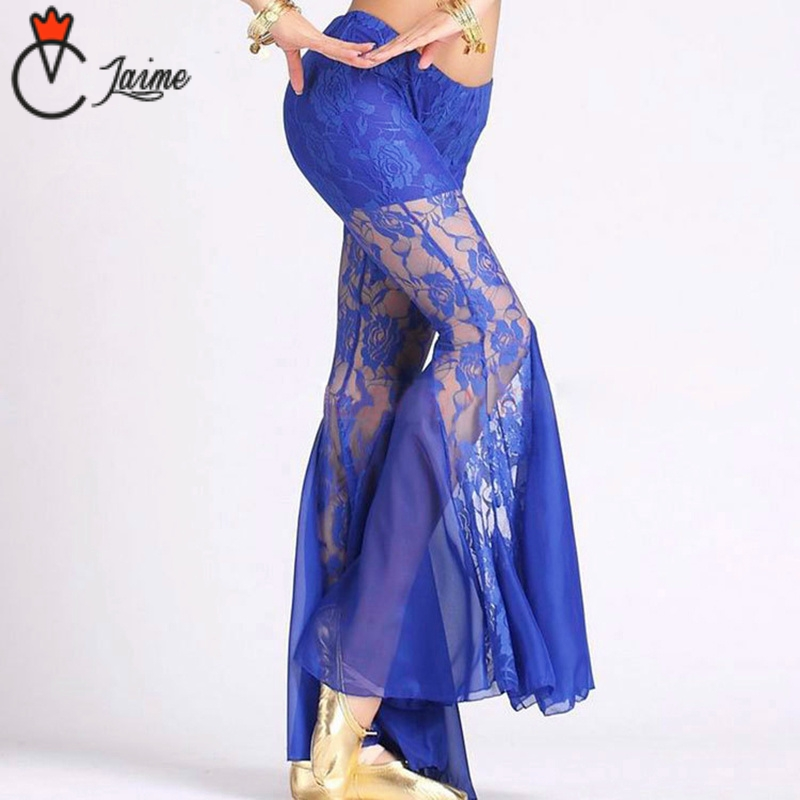 Belly Dancing Pants Cheap Belly Dance Pants Elastic Lace Trousers Belly Dance Trousers Performance Costume