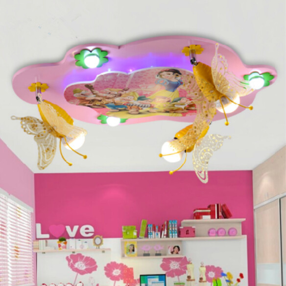 Creative led ceiling lights warm bedroom lamps princess room lamps creative led ceiling lights warm bedroom lamps princess room lamps children room lights snow white and mozeypictures
