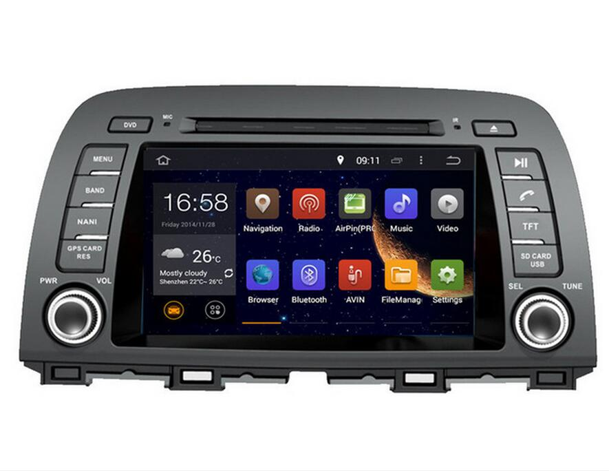 RAM 2GB Android 9.0 Fit <font><b>MAZDA</b></font> <font><b>6</b></font> mazda6/ATENZA/CX-5 2013 <font><b>2014</b></font>-2016 AUTO DVD player Multimedia navigation GPS NAVI Radio STEREO image