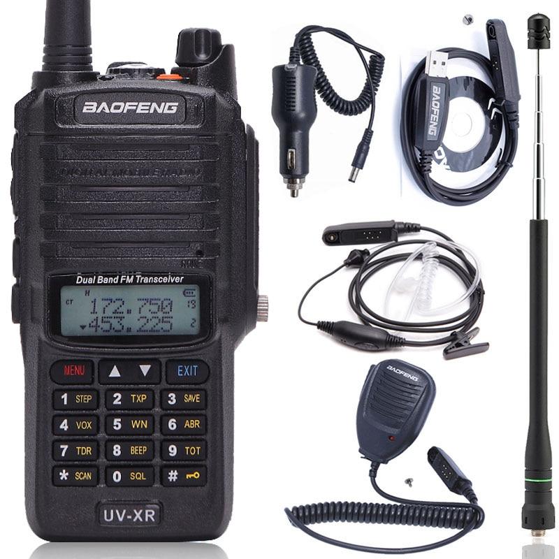 Baofeng UV XR 10W High Power 4800Mah Battery IP67 WaterProof VHF UHF Dual Band Walkie Talkie