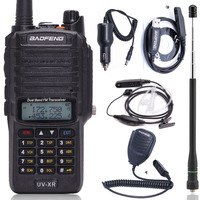 Baofeng UV XR 10W High Power 4800Mah Battery IP67 WaterProof Dual Band Walkie Talkie Two Way Radio+One Programming Cable with CD