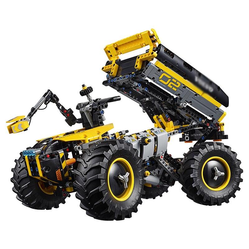 Technic Volvo Concept Wheel Loader ZEUX Model Building Blocks Bricks Kits Toys