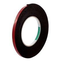 Двухсторонняя клейкая лента uxcell 5 м 8 мм 12 красная из пеноматериала