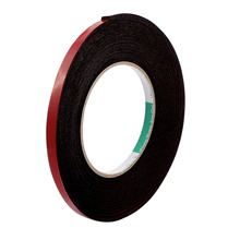 цена на UXCELL 5M 8mm 12mm Red Double Sided Sponge Tape Adhesive Sticker Foam Glue Strip Sealing Sponge Foam Rubber Strip Neoprene Tape