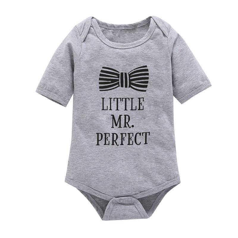 0aeb07ff3583 Fashion Newborn Baby Boys Romper Set Gentleman Bow Cardigans Sweatshirt Coat  + Long Sleeve Jumpsuit Outfits