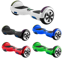 Hoverboard 6.5 Inch Electric Scooter Bluetooth Self-Balancing Scooters LED Lights Two Wheels Balance Skateboard Kids Gifts+Bag