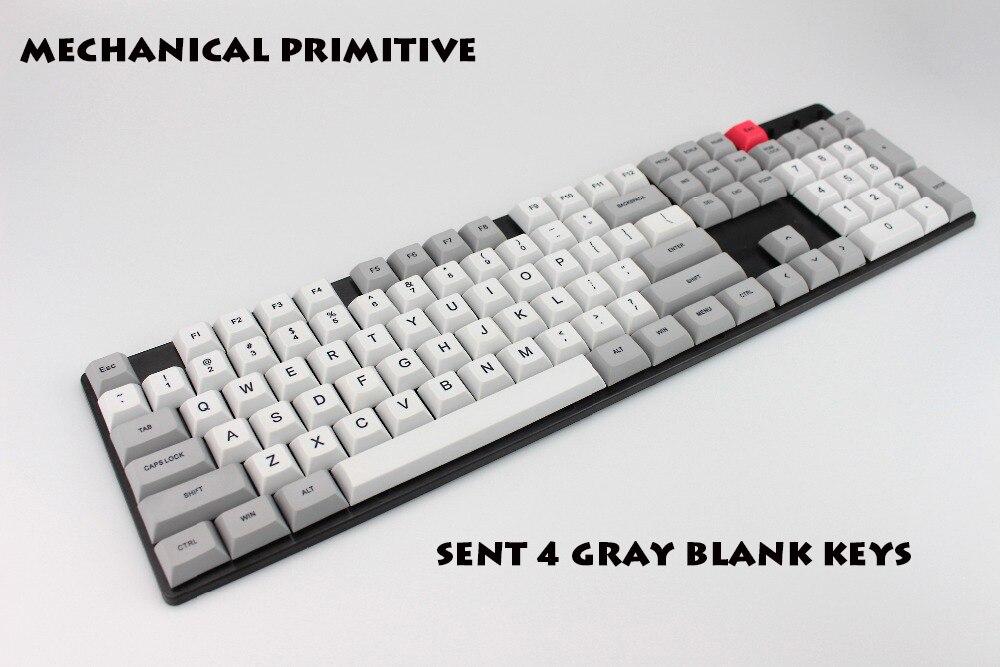 DSA Granite keycap 108 Keys PBT Keycap Dye-Sublimated  Keycaps For Mechanical Gaming Keyboard