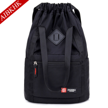 Drawstring Pocket Nylon Women Backpack Backpacks for Teenage Girls Female Bagpack Travel Bag